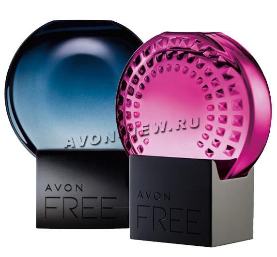 Новые ароматами Avon Free